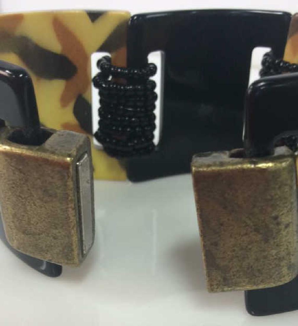 Lot 4 Assorted Women's Bracelets Jewelry - 8