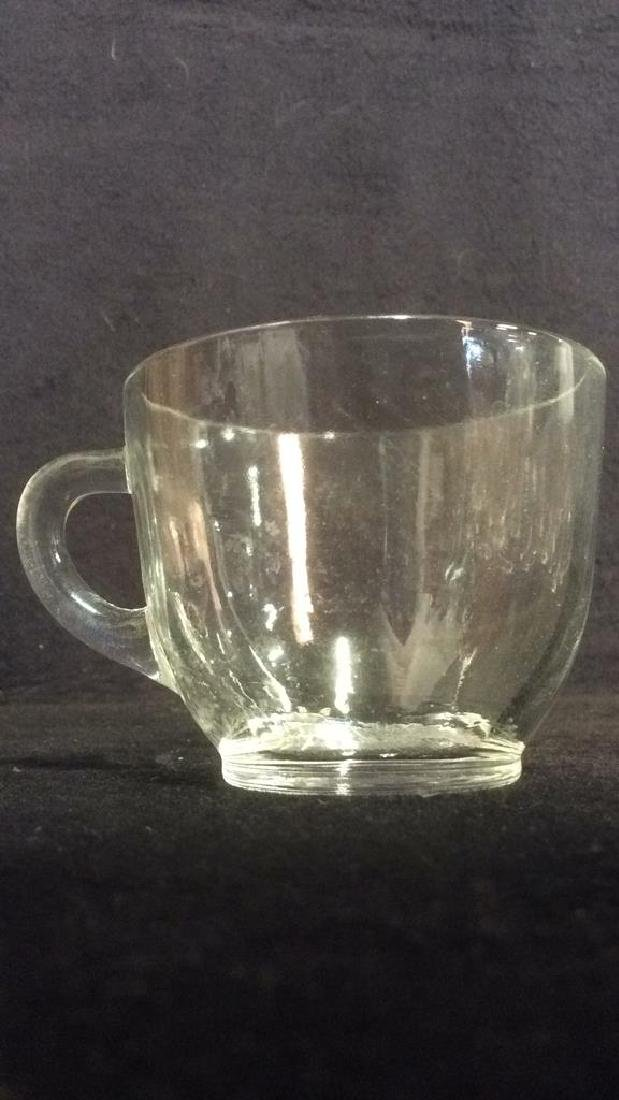Lot 14 Marked Glass Teacups COllectibles - 4