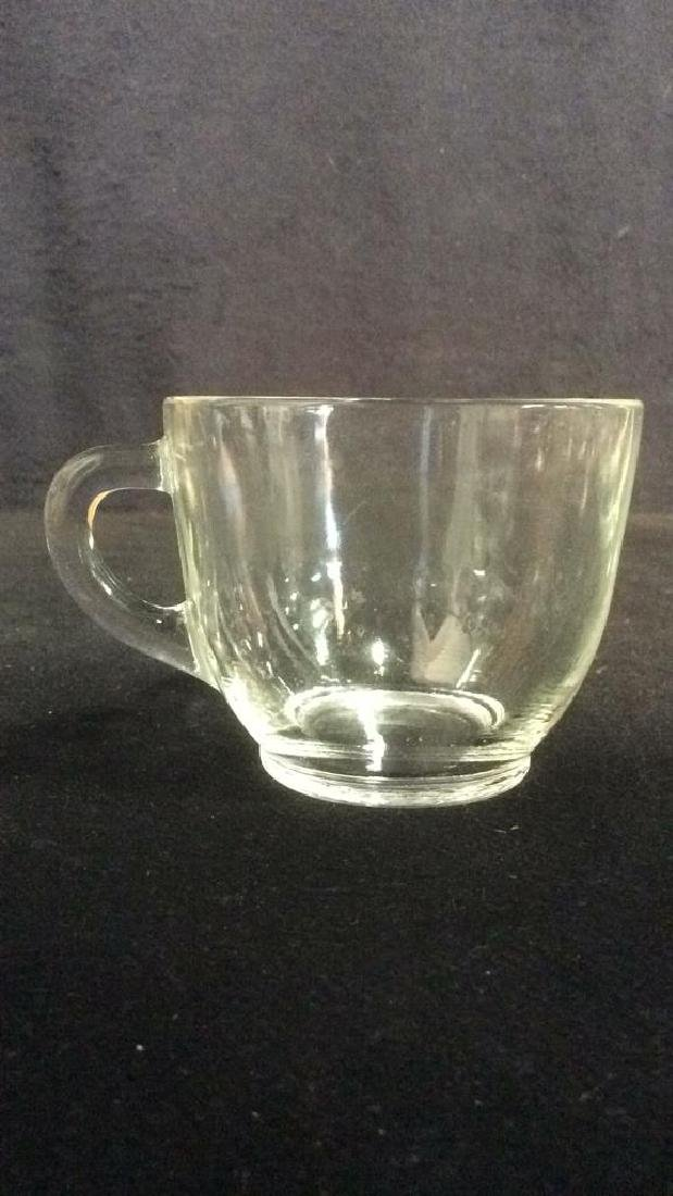 Lot 14 Marked Glass Teacups COllectibles - 6