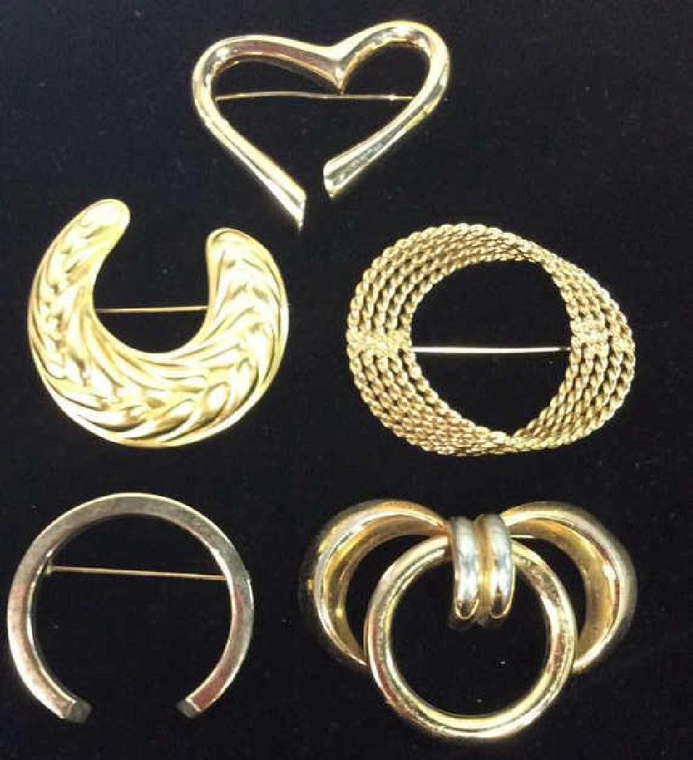 Lot 5 Assorted Women's Brooch Pins