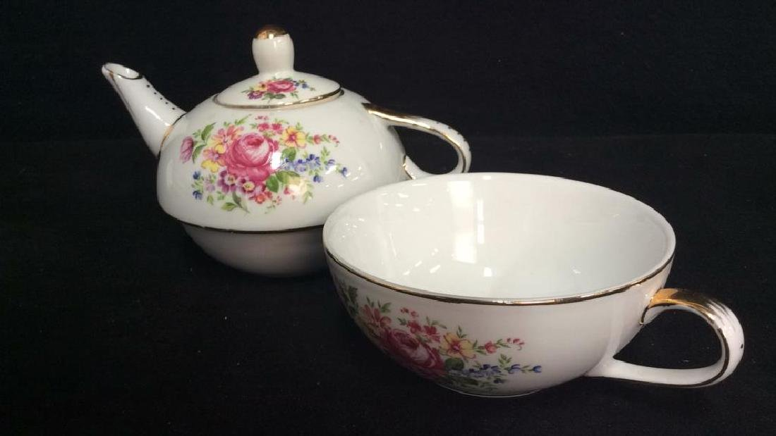 Group Lot Assorted Porcelain Tabletop Acc - 7