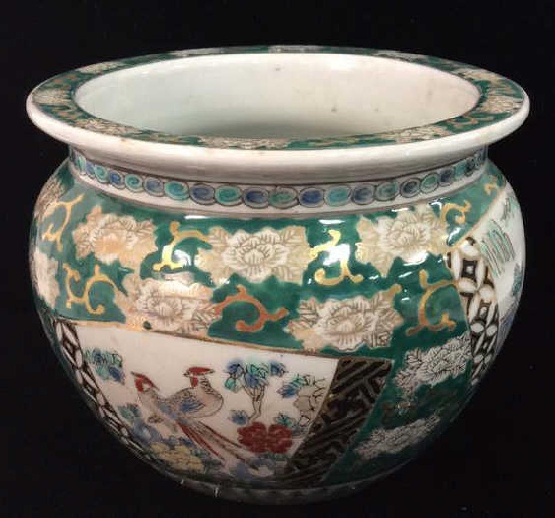 Orientalist Style Porcelain Planter Vase