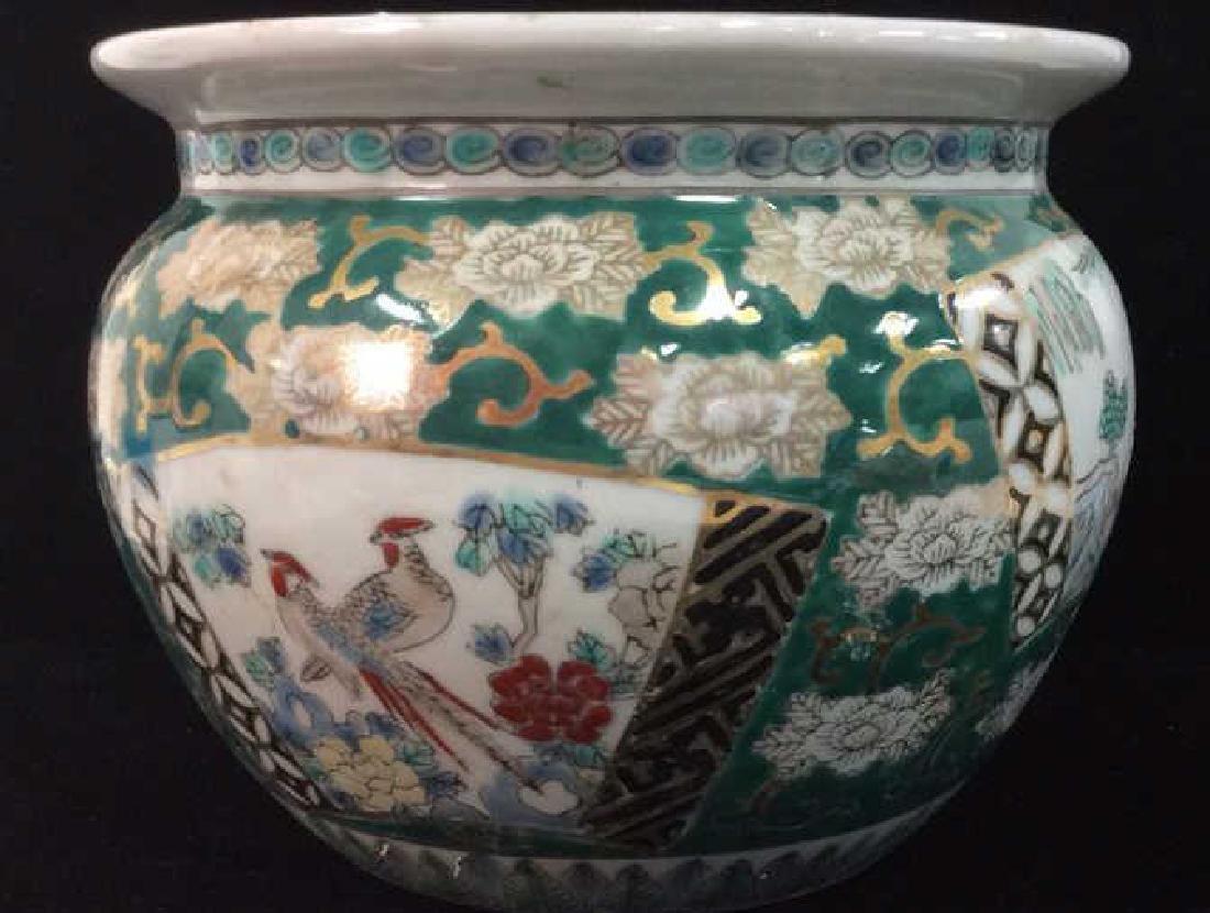 Orientalist Style Porcelain Planter Vase - 2