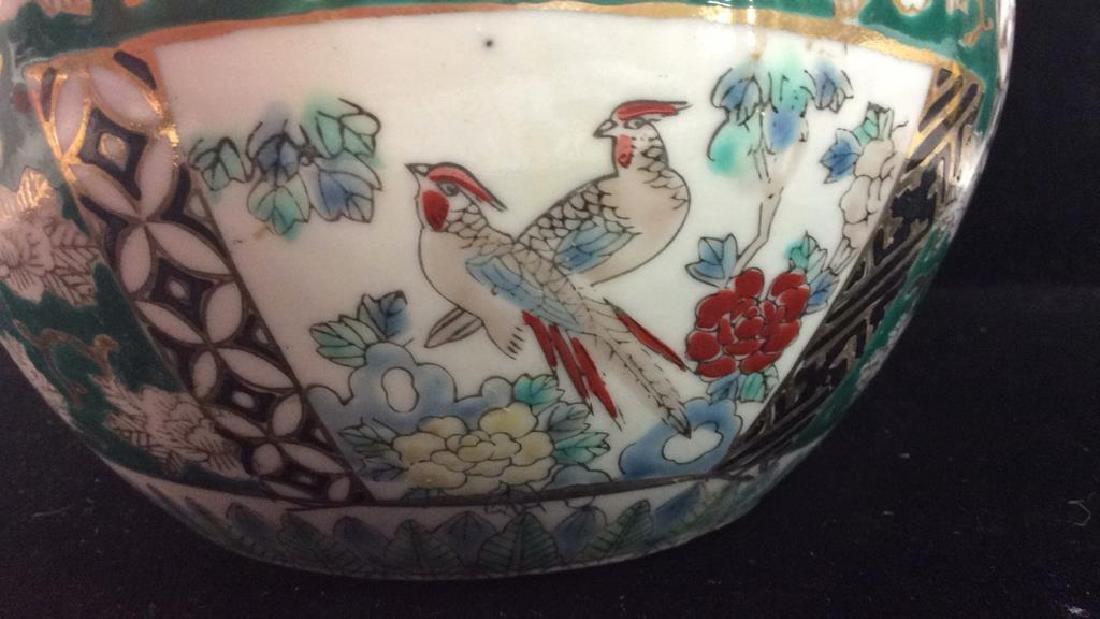 Orientalist Style Porcelain Planter Vase - 5
