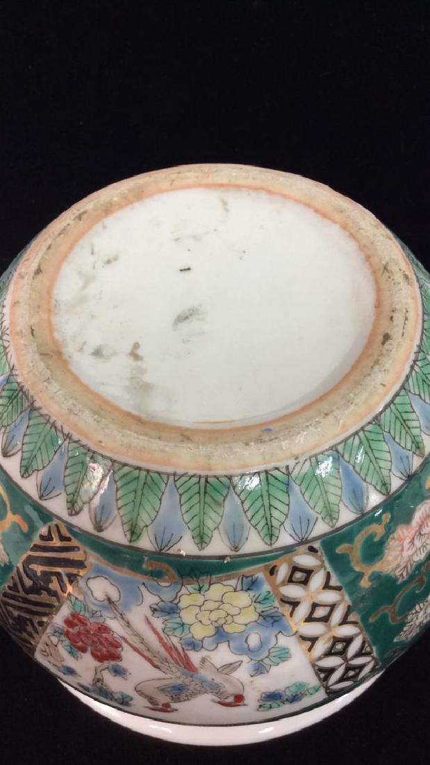 Orientalist Style Porcelain Planter Vase - 6