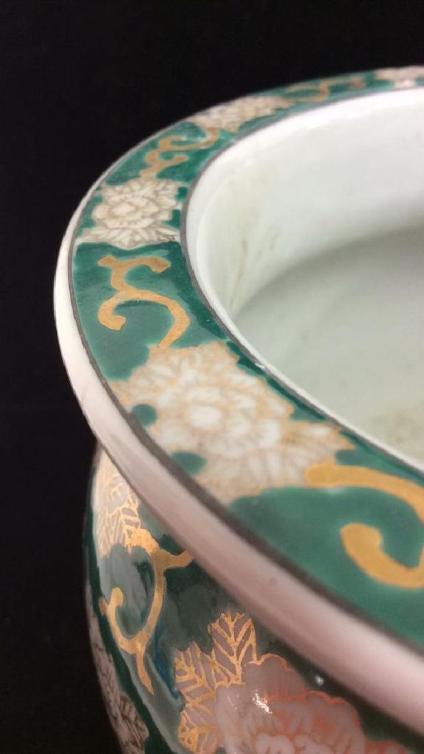 Orientalist Style Porcelain Planter Vase - 9