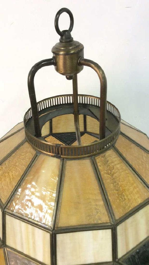 Stained Glass Tiffany Style Lamp - 7