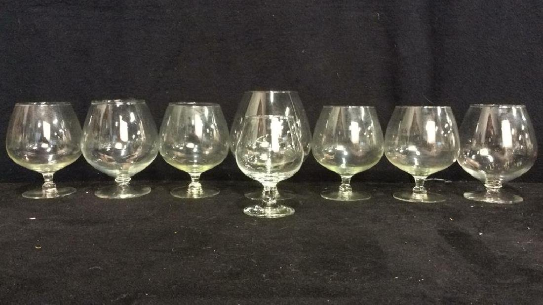 Lot 8 Assorted Wine Goblets