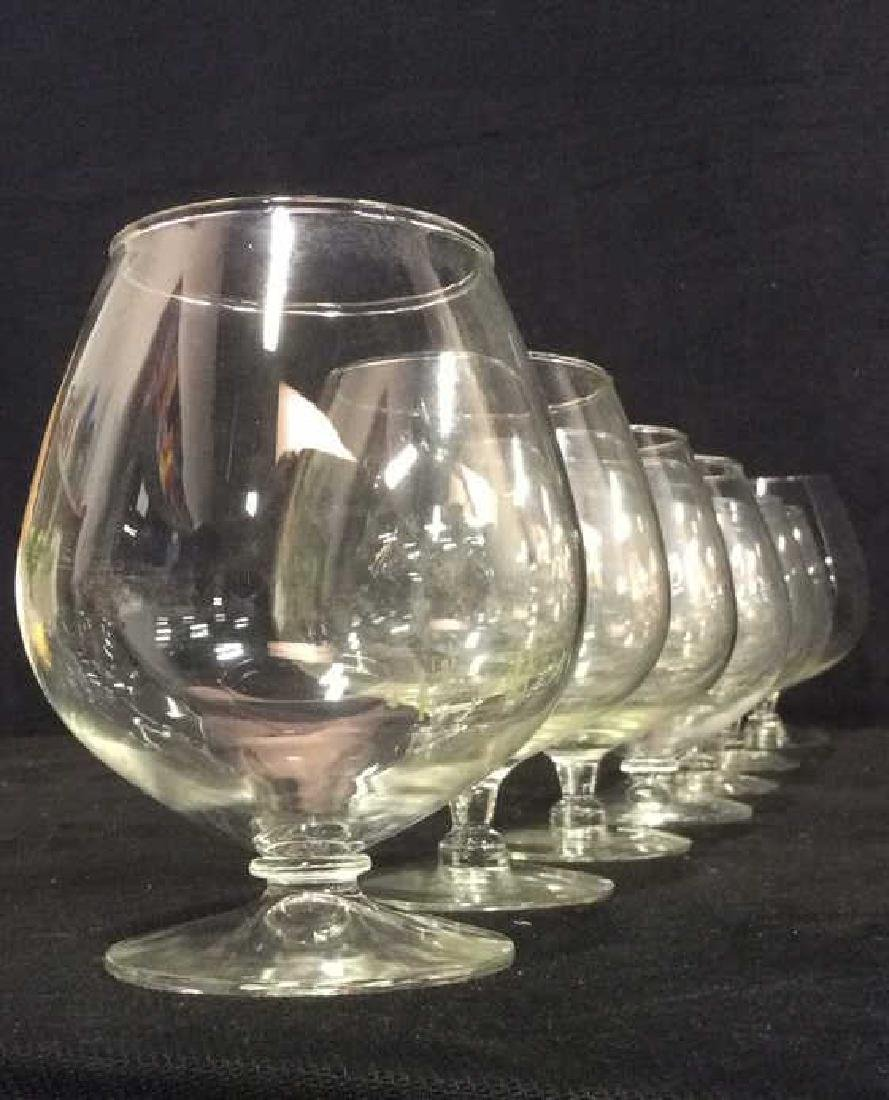 Lot 8 Assorted Wine Goblets - 4