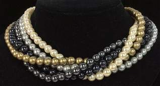 JOAN RIVERS Faux Pearl Necklace