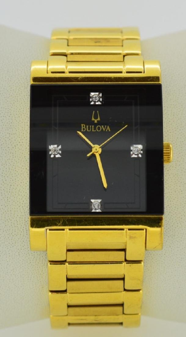 Ladies Bulova Gold Plated Wristwatch