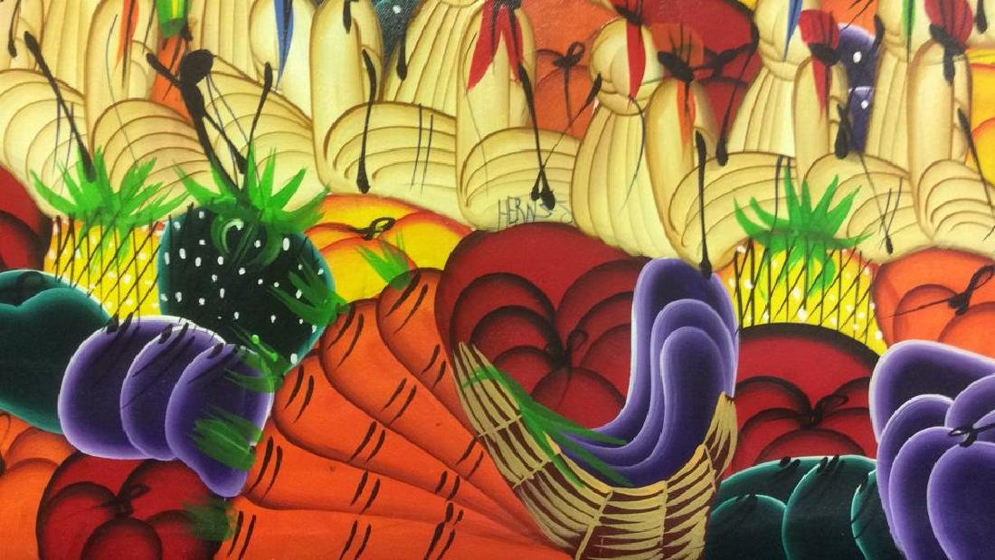 HERNSO Haitian Painting On Canvas - 10
