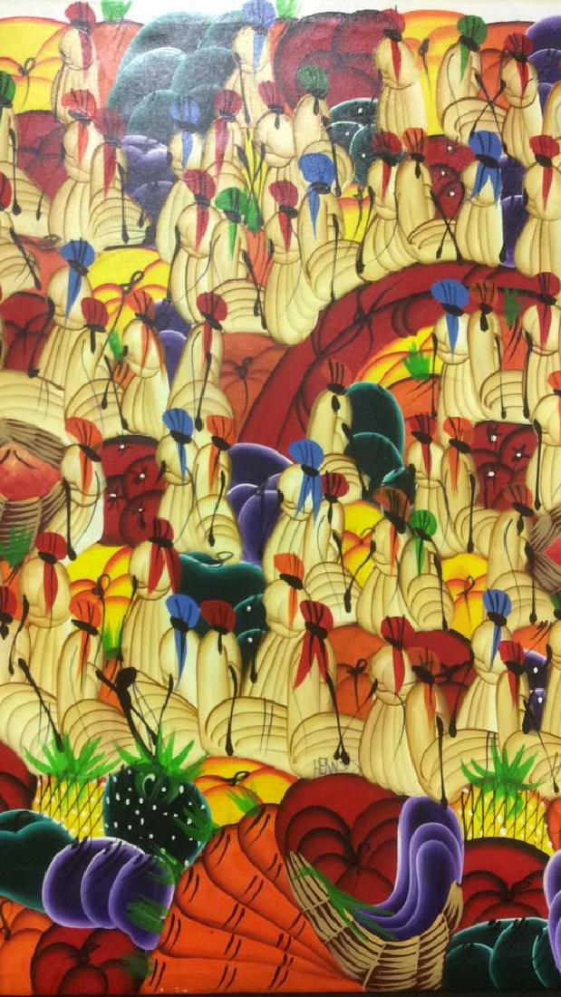 HERNSO Haitian Painting On Canvas