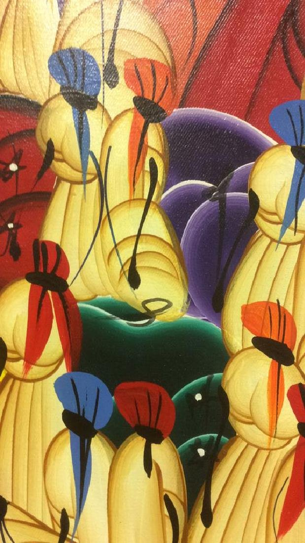 HERNSO Haitian Painting On Canvas - 4
