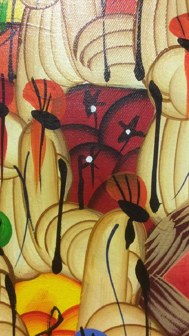 HERNSO Haitian Painting On Canvas - 5