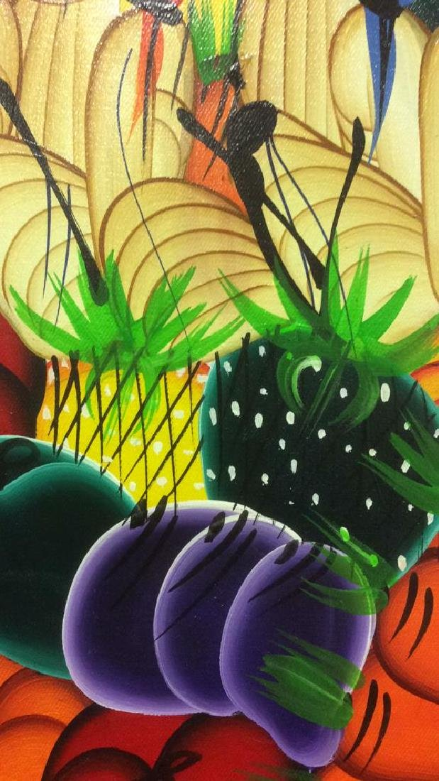 HERNSO Haitian Painting On Canvas - 6