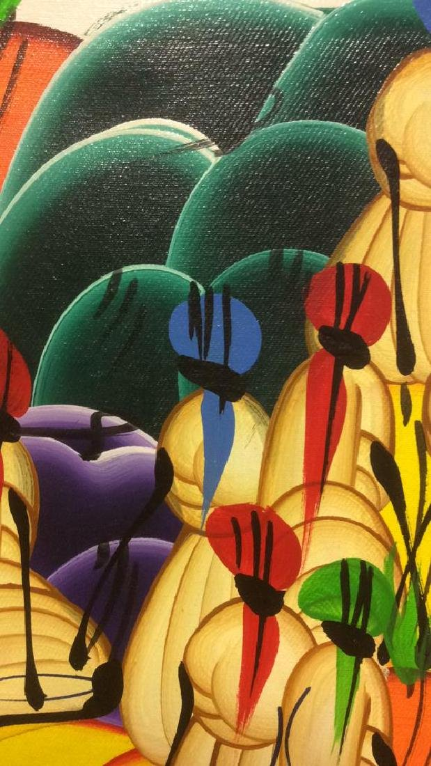 HERNSO Haitian Painting On Canvas - 9