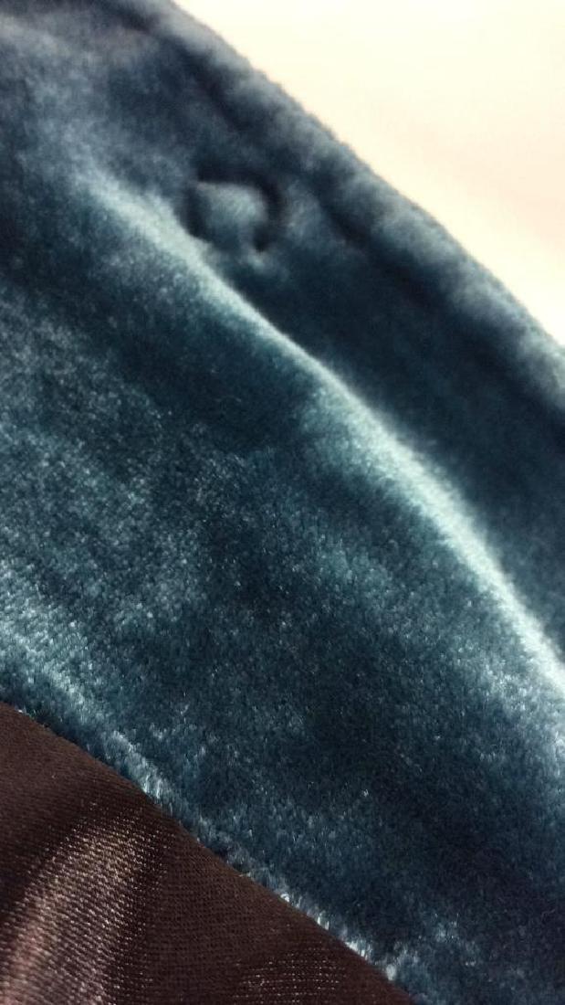 TAHARI Blue Toned Velvet Women's Dress Jacket - 10