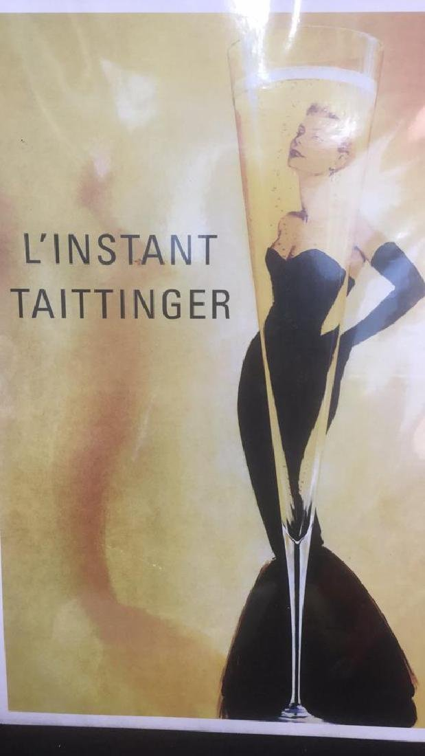 L'Instant Tattinger Grace Kelly Poster Print