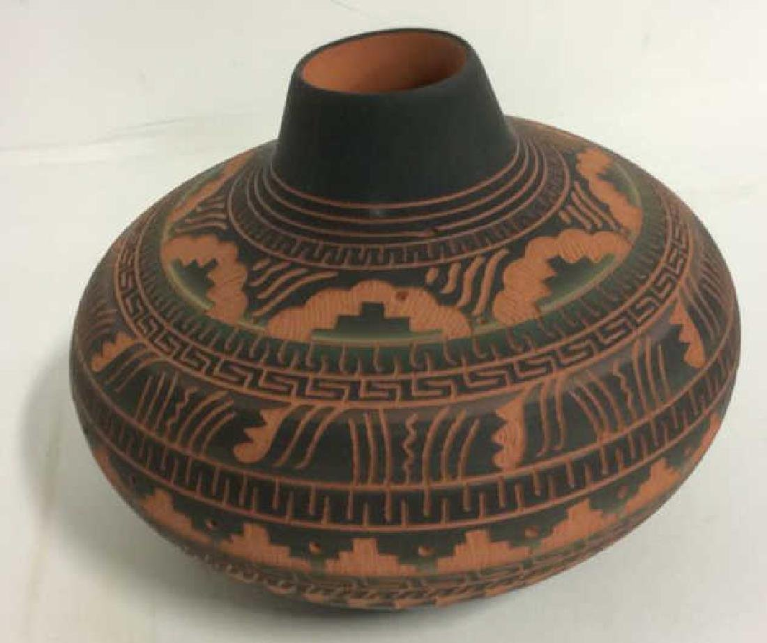 Lot 3 Ceramic Native American Navajo Pottery - 3