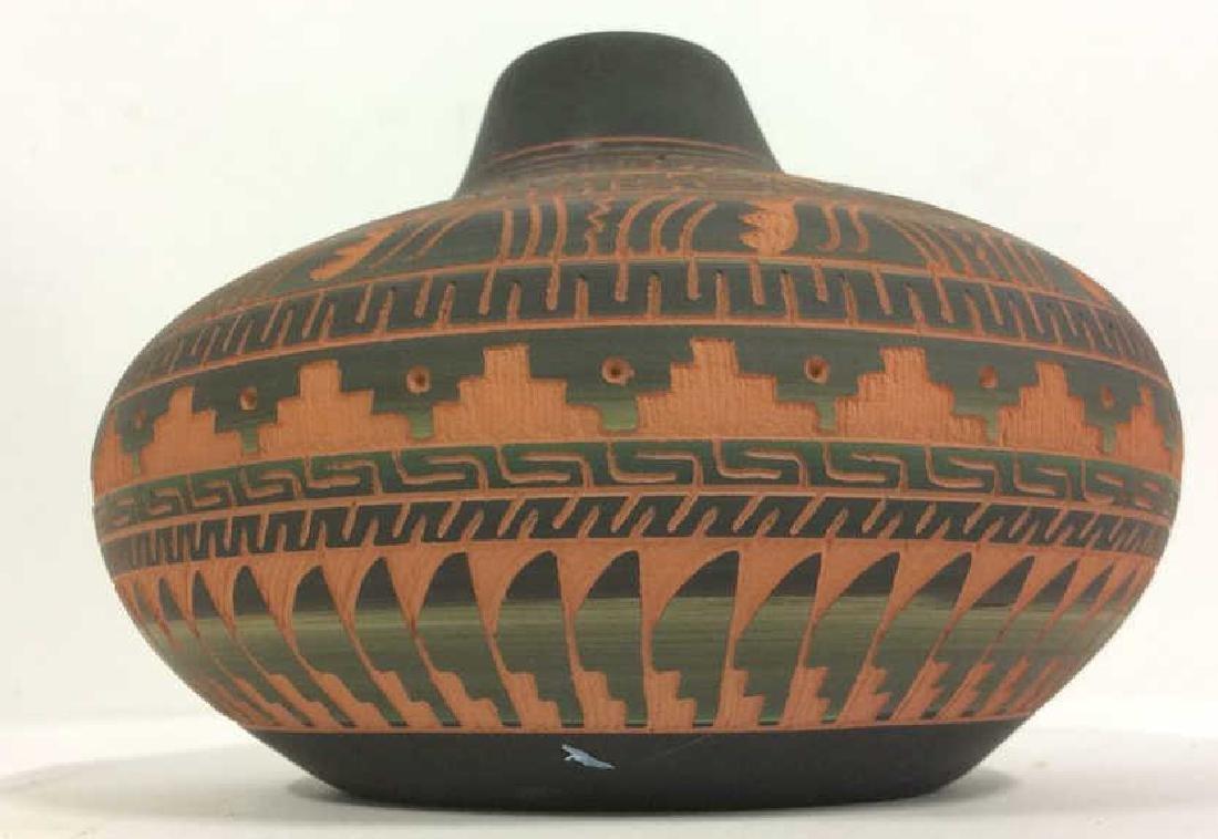 Lot 3 Ceramic Native American Navajo Pottery - 4