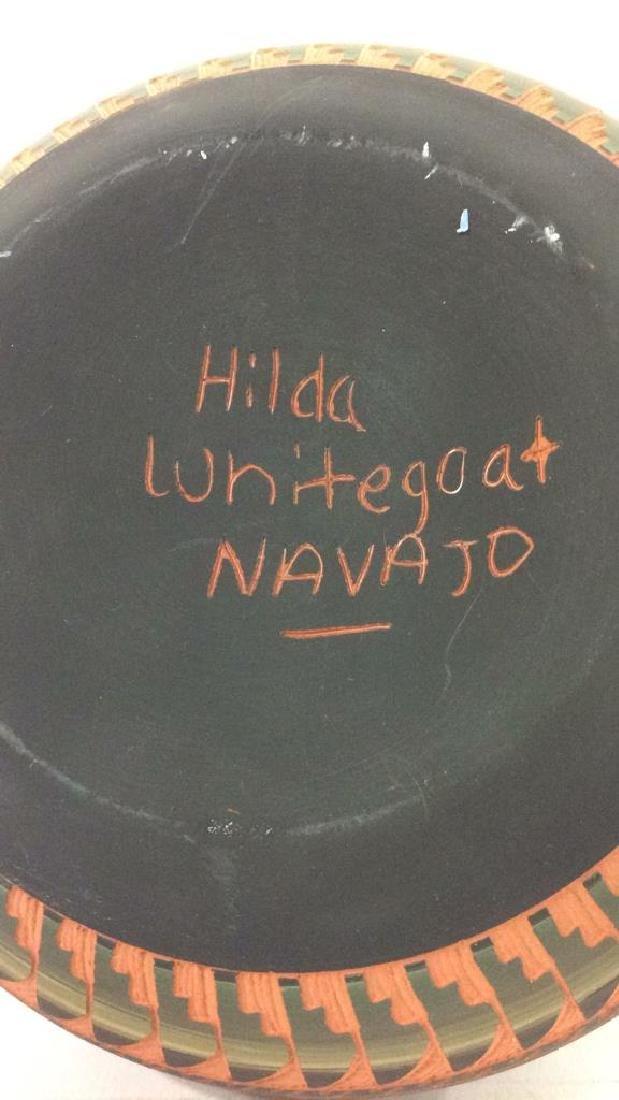 Lot 3 Ceramic Native American Navajo Pottery - 5