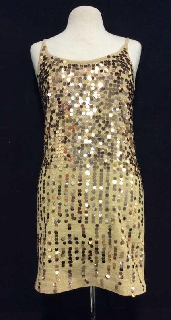 NINA LEONARD Sequin Dress Ladies Fashion