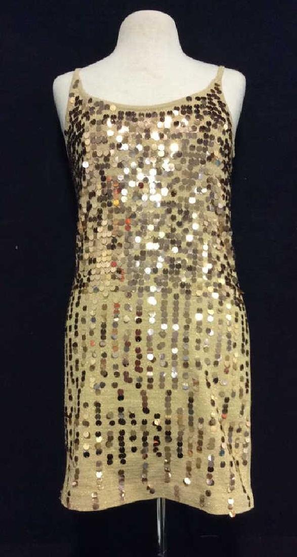 NINA LEONARD Sequin Dress Ladies Fashion