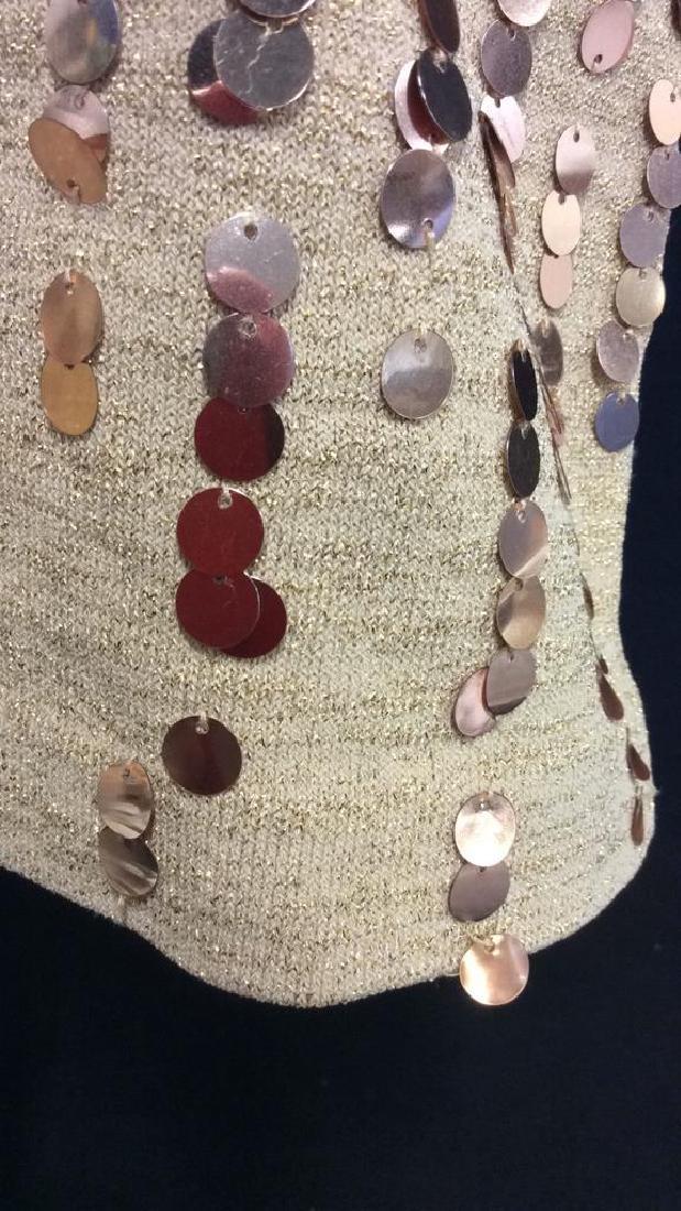 NINA LEONARD Sequin Dress Ladies Fashion - 3