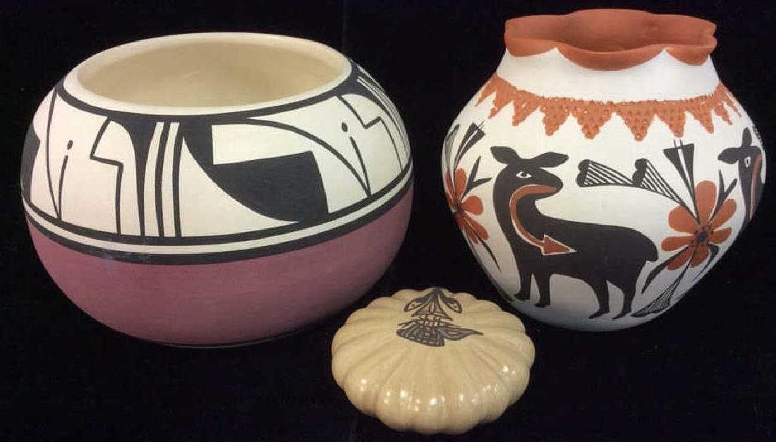 Lot 3 Native American Ceramic Pottery