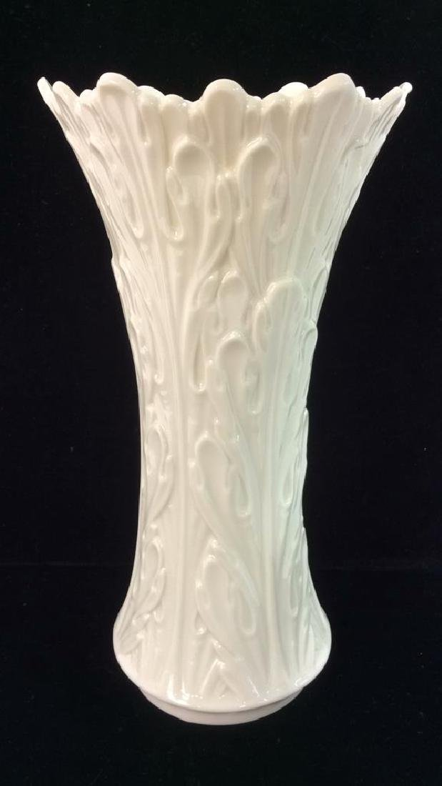 Cream Toned Lenox Porcelain Vase