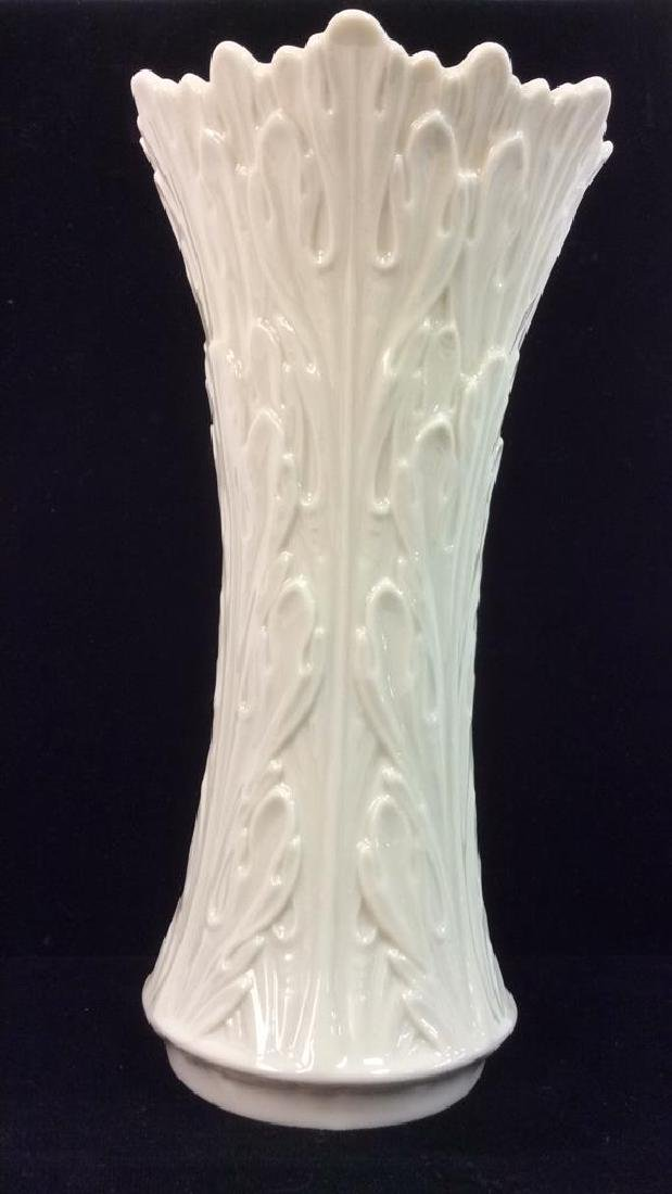 Cream Toned Lenox Porcelain Vase - 3
