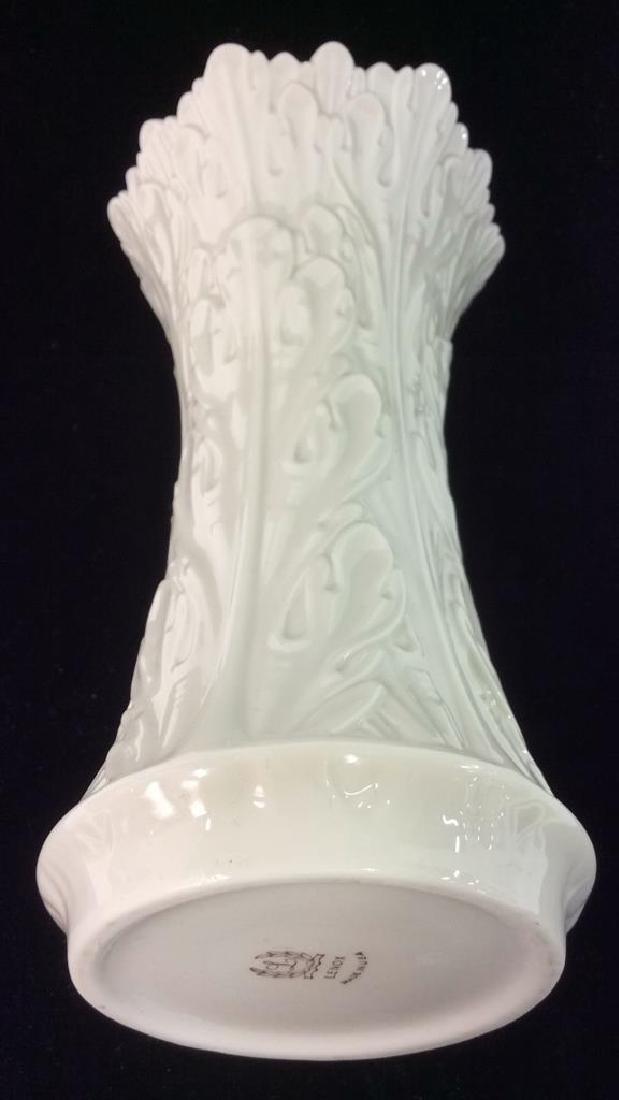 Cream Toned Lenox Porcelain Vase - 6
