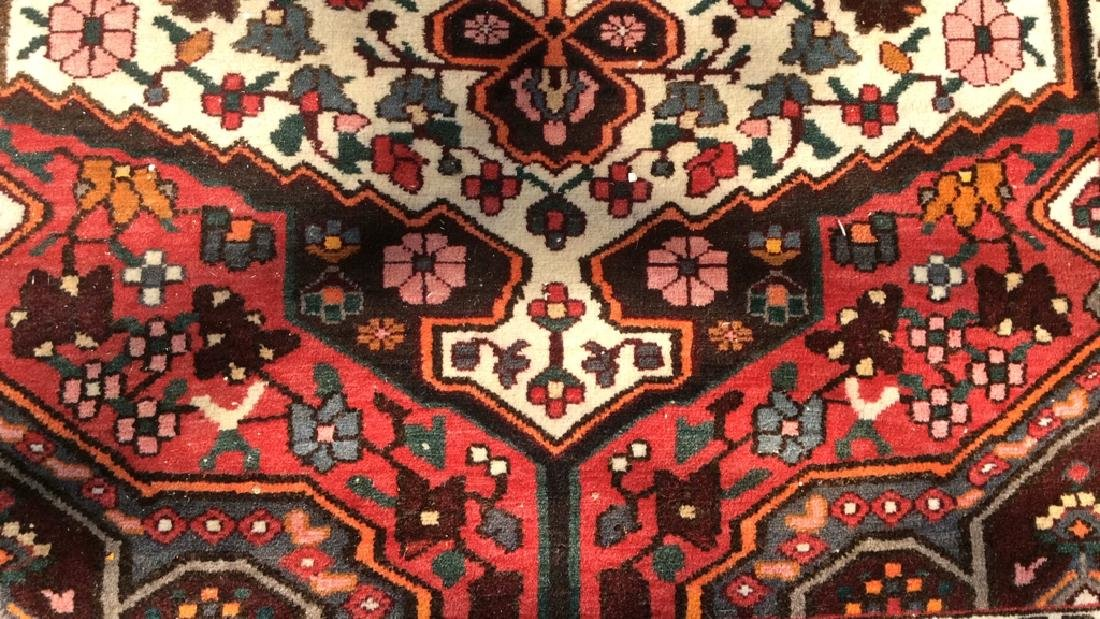 Handmade Antique Floral Detailed Wool Rug - 6
