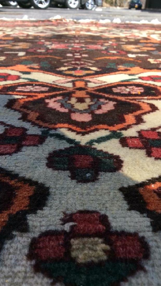 Handmade Antique Floral Detailed Wool Rug - 8
