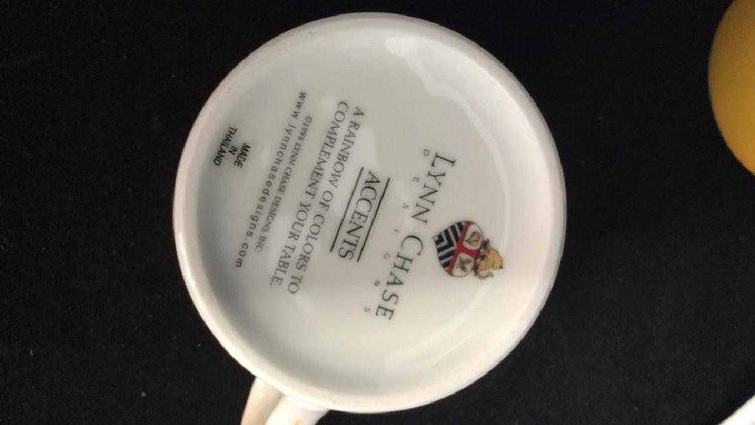 Set 16 LYNN CHASE DESIGNS Porcelain Dishes - 10