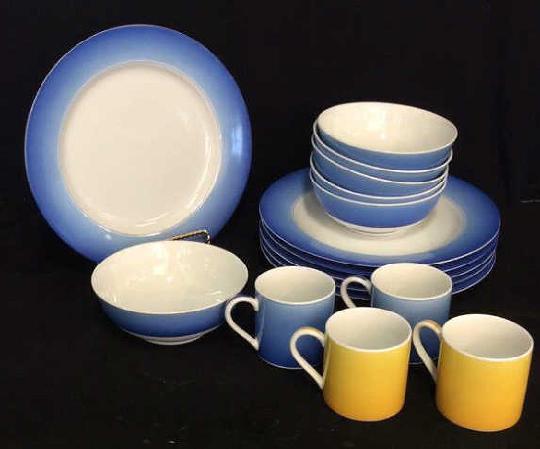 Set 16 LYNN CHASE DESIGNS Porcelain Dishes