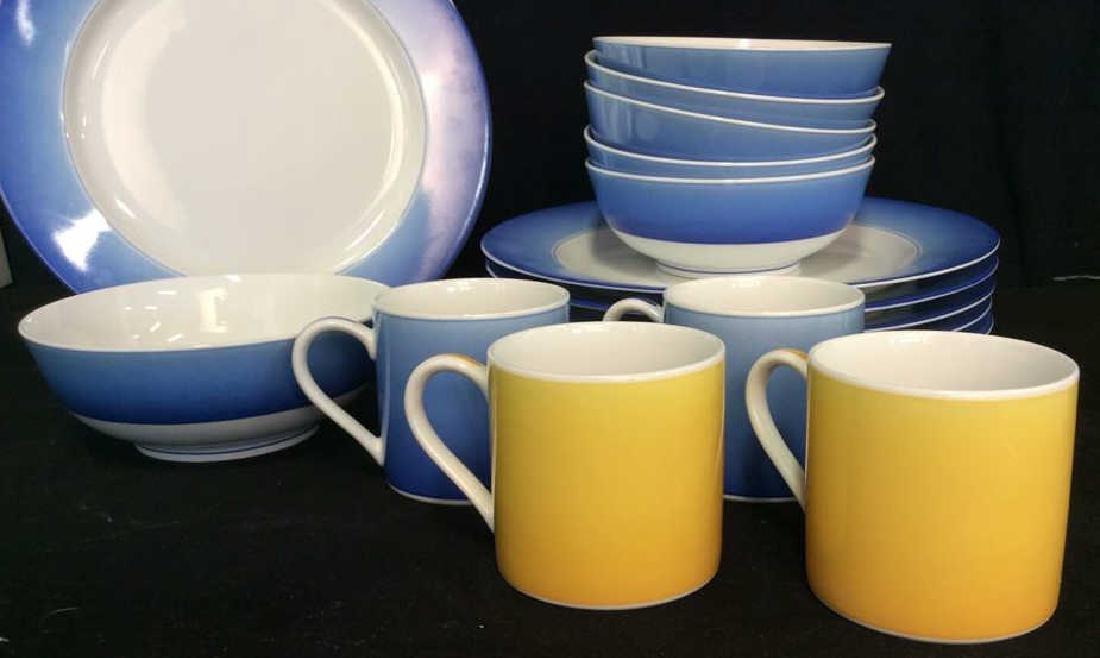 Set 16 LYNN CHASE DESIGNS Porcelain Dishes - 2