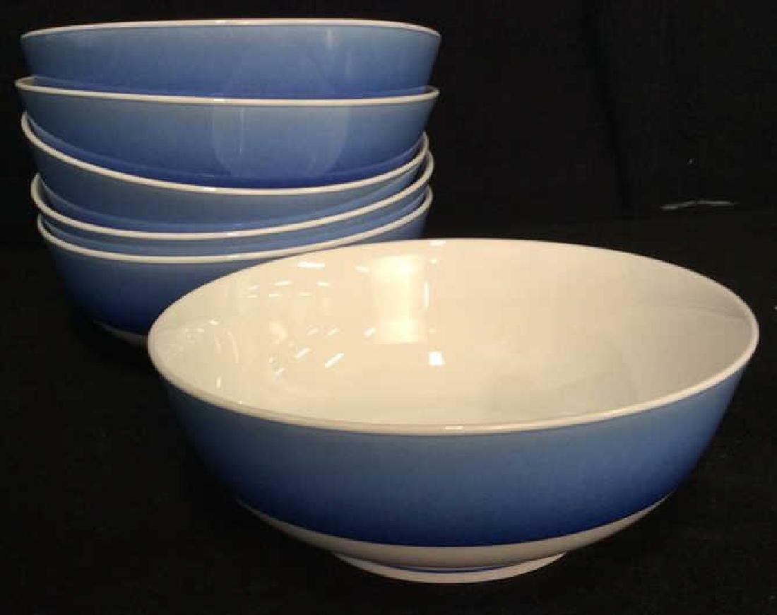 Set 16 LYNN CHASE DESIGNS Porcelain Dishes - 6
