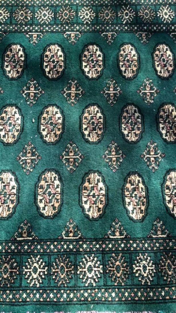 Vintage Handmade Fringed Wool Rug - 9