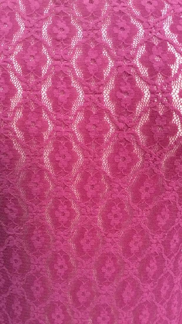 HERMAN GEIST Purple Toned Lace Shirt - 2