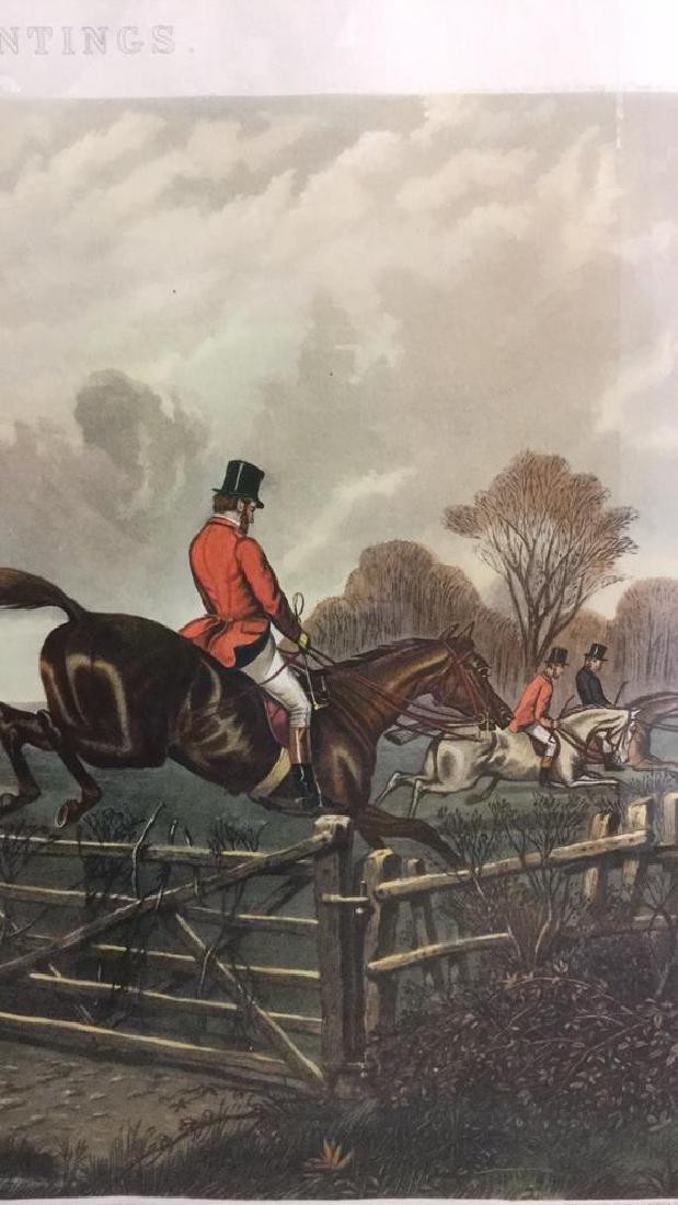 Print Of A John Sturgess Fox Hunt Painting - 11