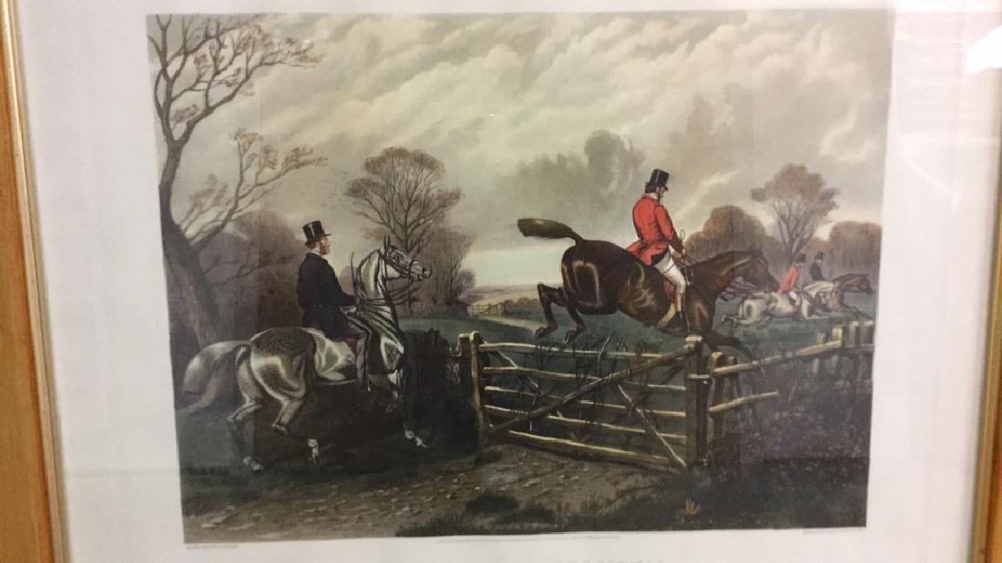 Print Of A John Sturgess Fox Hunt Painting - 2