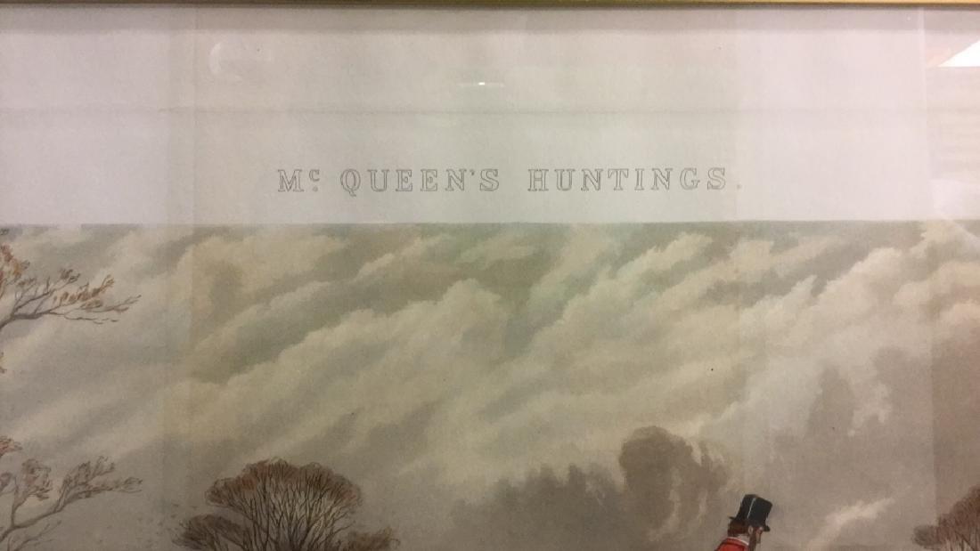 Print Of A John Sturgess Fox Hunt Painting - 3
