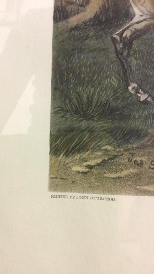 Print Of A John Sturgess Fox Hunt Painting - 5