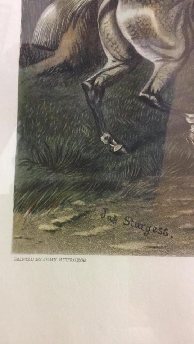 Print Of A John Sturgess Fox Hunt Painting - 6