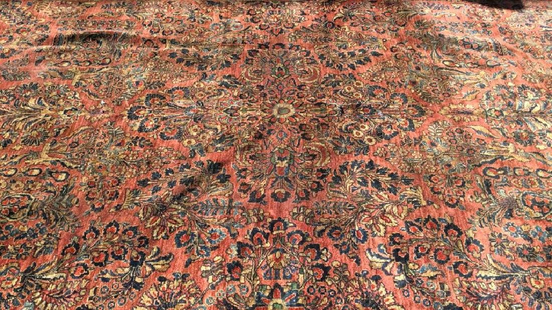 Antique Handmade Oriental  Wool Rug