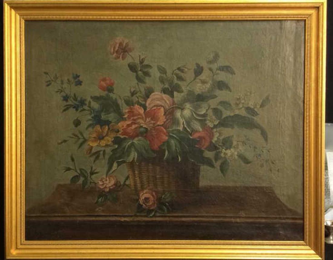 ITALIAN SCHOOL, C 1800 Still Life Oil On Canvas