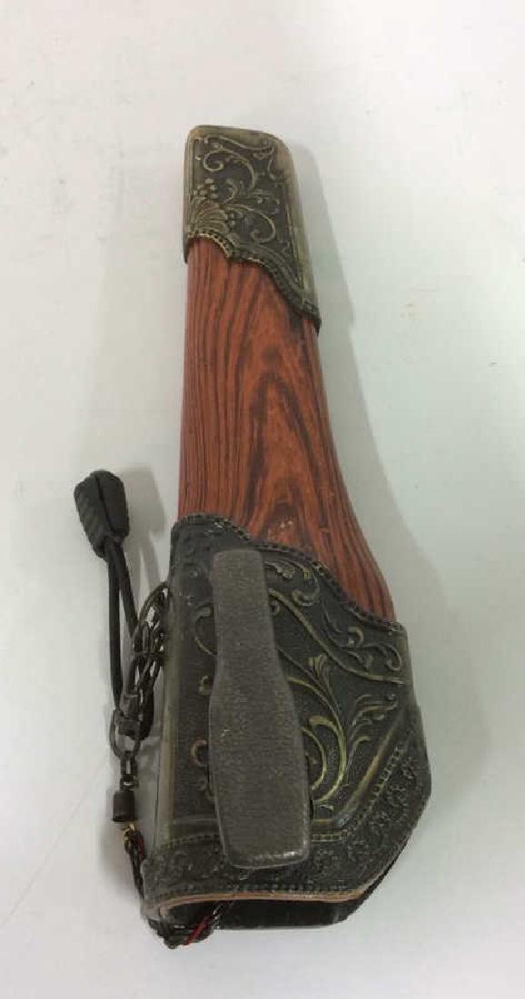 DORADO Intricately Detailed Knife & Knife Cover - 5