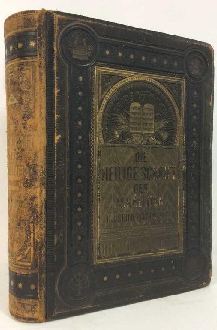 Antique Hebrew Bible Illustrated Gustav Doré